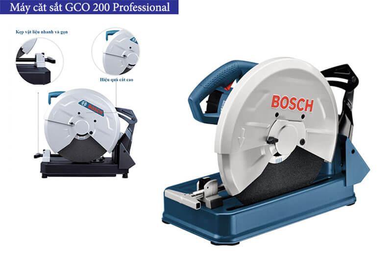 Một số điểm cần lưu ý khi sử dụng máy cắt sắt Bosch GCO 200