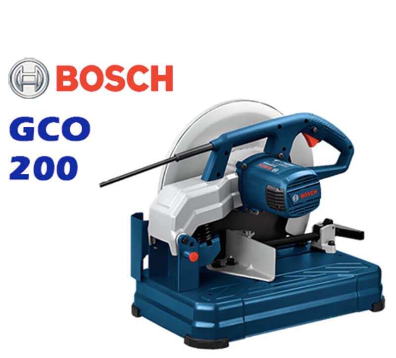 Những thông tin đáng chú ý về sản phẩm máy cắt sắt Bosch GCO 200