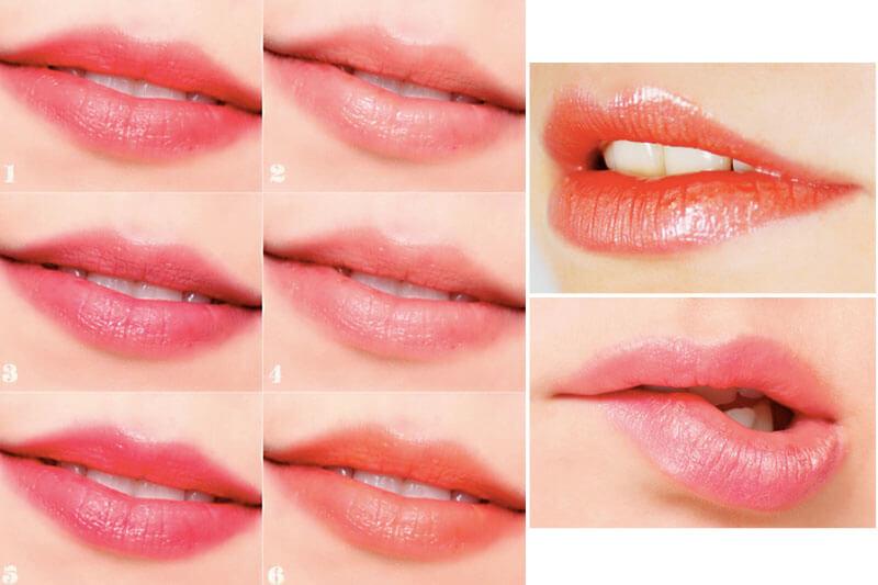 Giải đáp thắc mắc có nên phun môi màu hồng cam không?