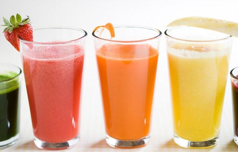 Sinh tố trái cây giúp giải độc trong cơ thể do rượu bia gây ra