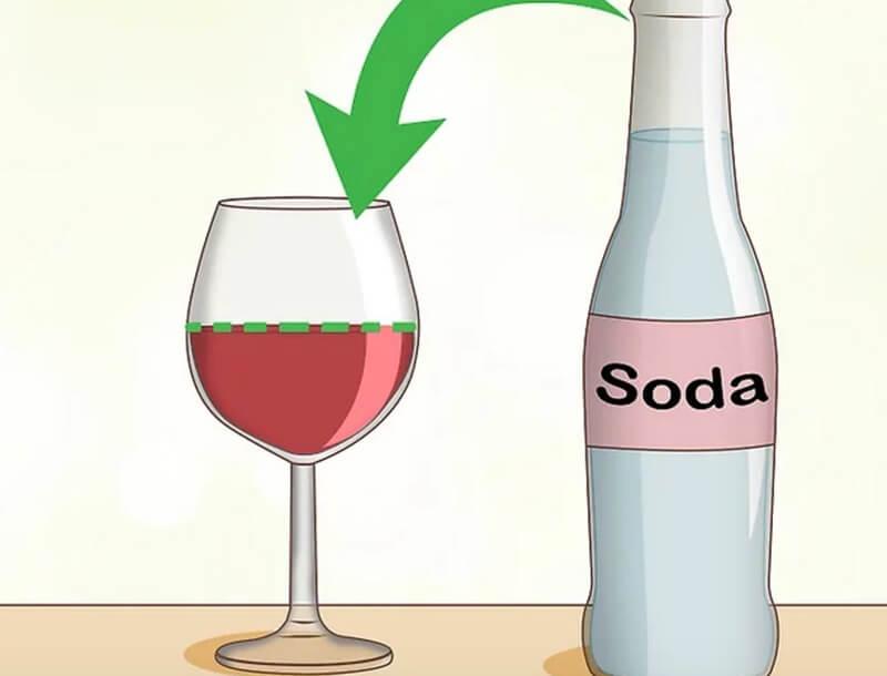 Tự pha chế đồ uống, pha loãng rượu