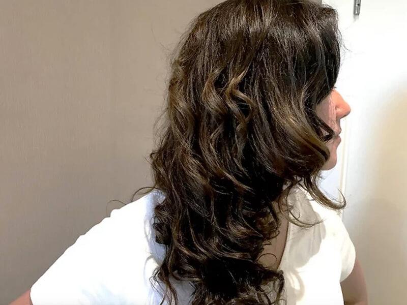 Kết quả là bạn sẽ có một kiểu tóc uốn gợn sóng hấp dẫn