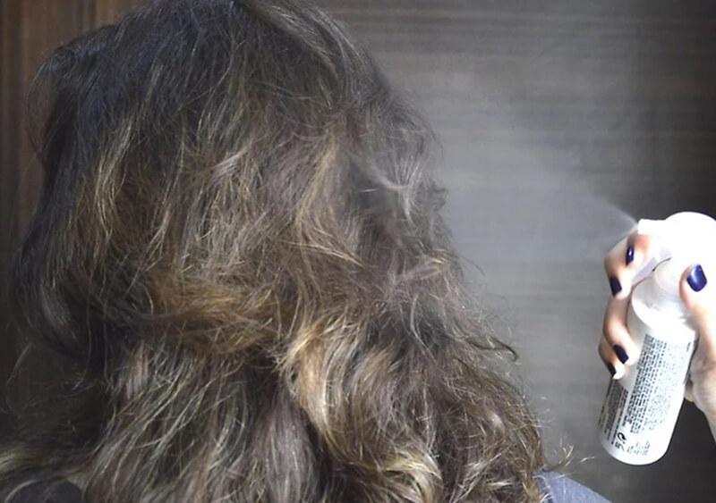 Xịt sản phẩm cách nhiệt cho tóc (heat protectant)