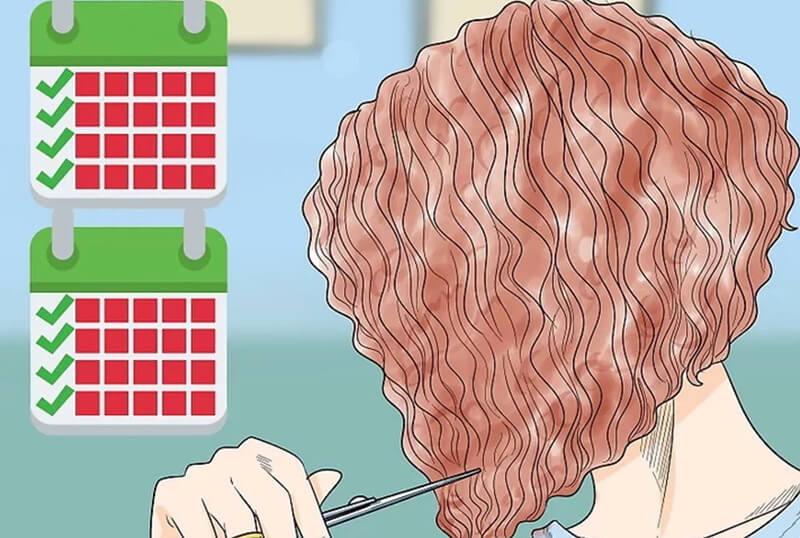 Hãy đi tỉa lại tóc mỗi 6-8 tuần để giữ kiểu