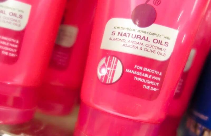 Hãy chọn những sản phẩm có thành phần là các loại dầu tự nhiên.