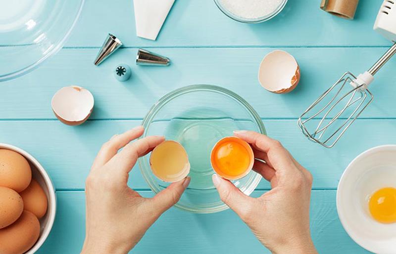Phương Pháp 1: Đường và lòng trắng trứng