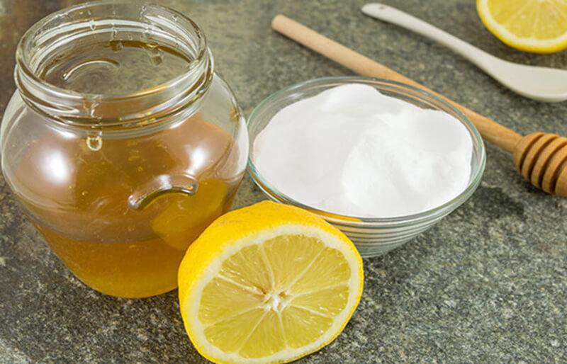 Baking Soda và mật ong