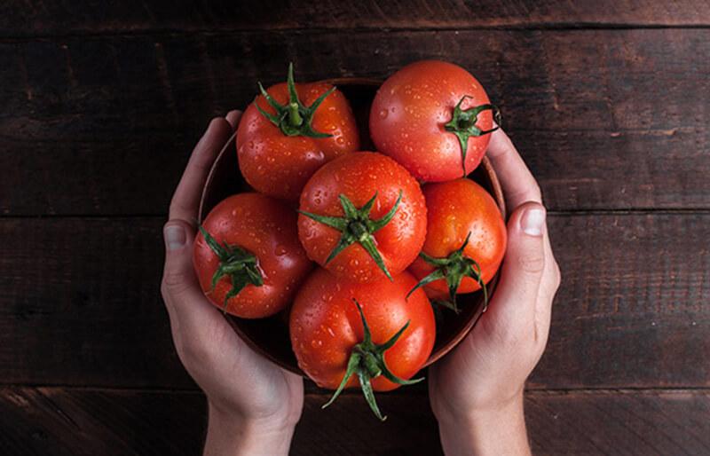 Cà chua và backing soda