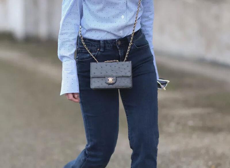 Chọn một chiếc quần jean tối màu