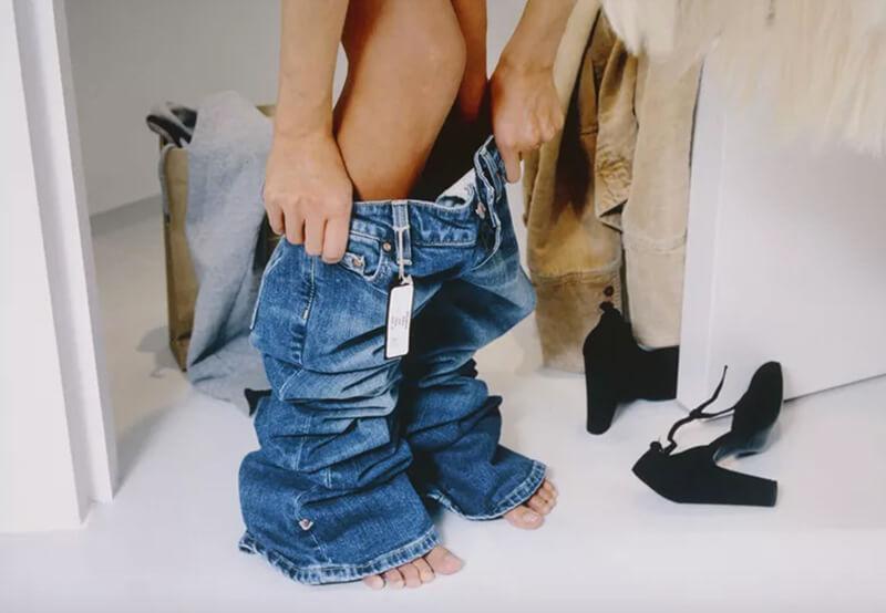 Hướng dẫn các bước đo size quần jean chính xác