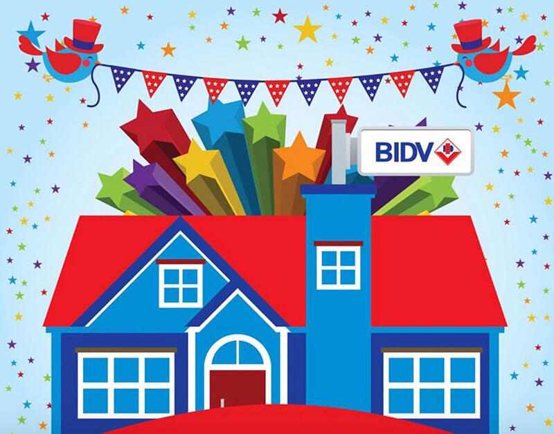 BIDV mang đến cho khách hàng chương trình vay tiền mua nhà ưu đãi