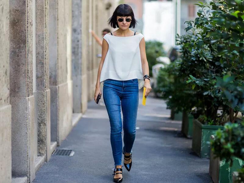 Bạn đã biết cách mặc quần jeans thun đúng chuẩn?
