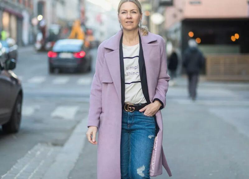 Cách biến hóa chiếc quần jeans basic trở nên thời trang