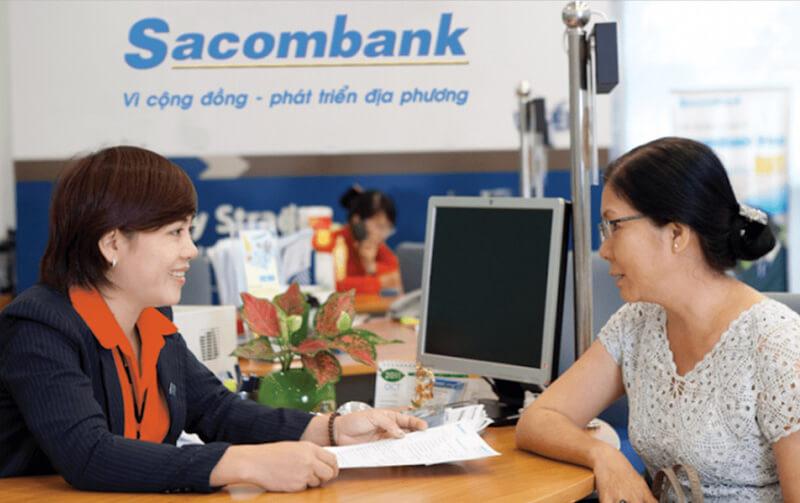 Thủ tục và hồ sơ vay tiền tại Sacombank