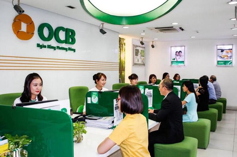 OCB là một trong những ngân hàng có thủ tục vay tiền bằng CMND và bằng lái khá nhanh