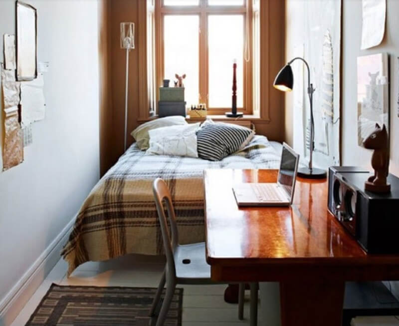 Thiết kế phòng ngủ nhỏ đẹp dành cho phòng 5m2