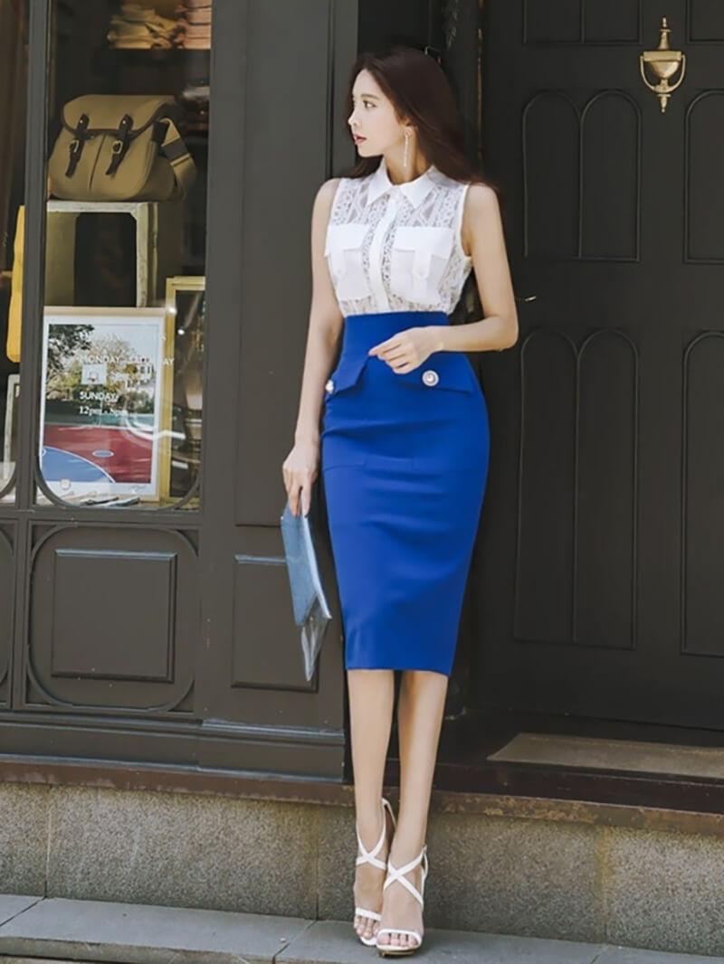 Chân váy bút chì là mẫu váy quyến rũ và là Items hot nhất mùa thu đông dành cho phái đẹp.