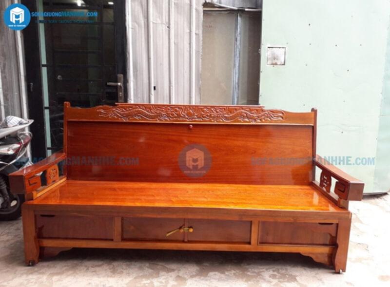 Sofa giường kéo GR01 đẹp tinh tế phù hợp mọi phong cách