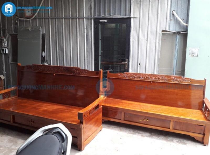 Sofa Mạnh Hệ chuyên cung cấp sofa giường gỗ giá tốt