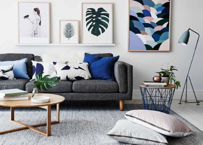 10 Mẹo thiết kế trang trí phòng khách nhỏ đẹp đầy lôi cuốn