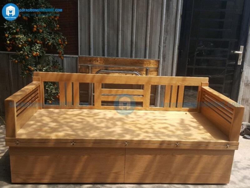 Sofa Mạnh Hệ là đơn vị trực tiếp sản xuất các mẫu sofa giường gỗ đa năng