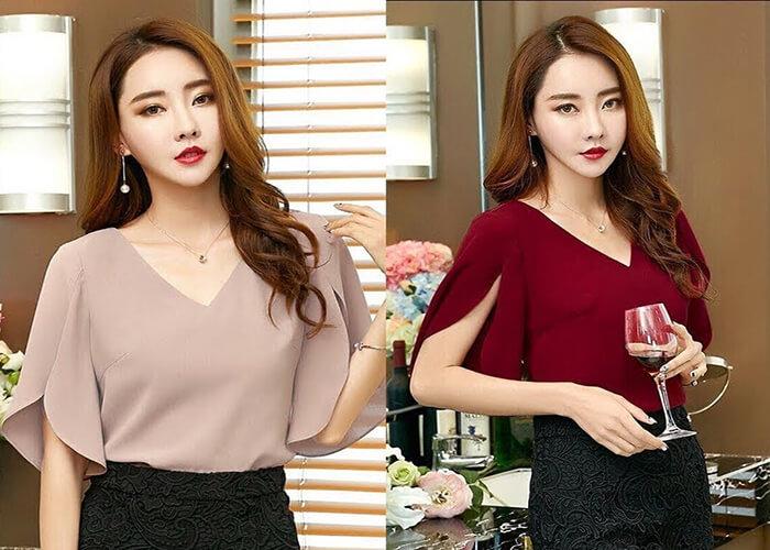 Top 10 mẫu áo sơ mi công sở đẹp và dễ thương dành cho phái đẹp