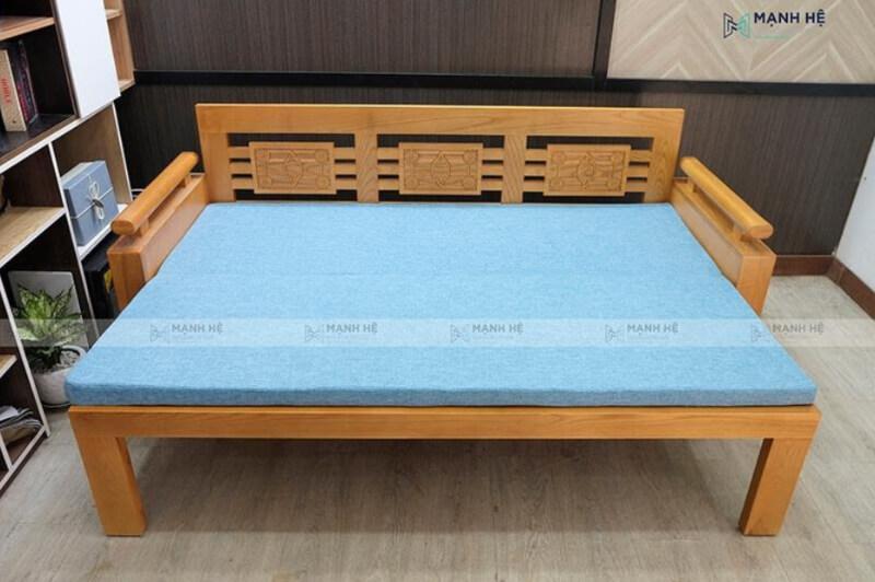 Sofa giường gỗ đa năng vô cùng tiện ích